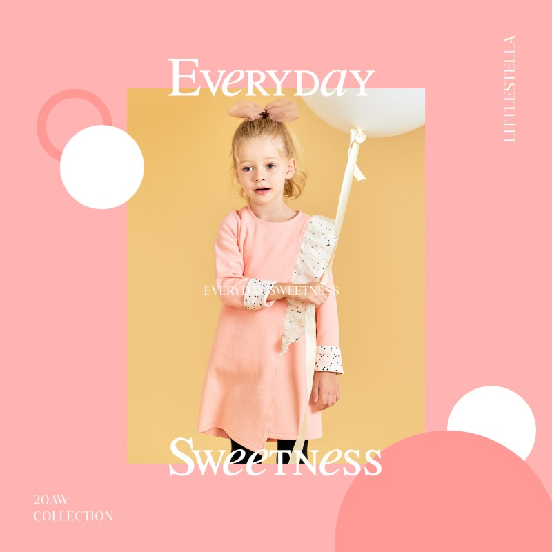 LITTLE STELLA 2020 AW COLLECTION 'Everyday sweetness'